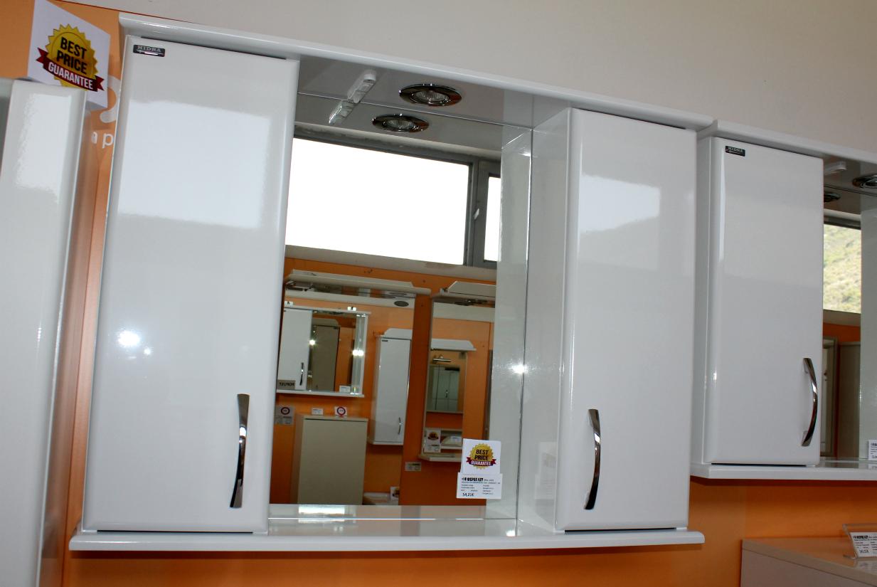 kupatilski ormarić i ogledalo